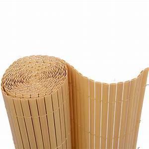 Bambou Pour Haie Brise Vue : canisse pvc imitation bambou haie artificielle cloture ~ Premium-room.com Idées de Décoration