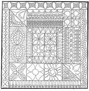 free hand quilting patterns hand quilting patterns free With hand quilting designs templates