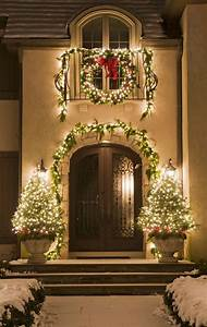 Beautiful, Outdoor, Christmas, Porch, Decoration, Ideas