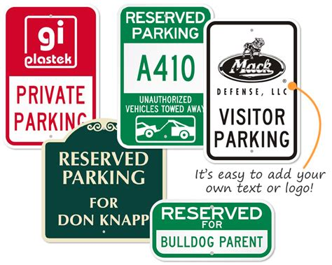 Reserved Parking Signs Template by Custom Reserved Parking Signs Free Shipping Fast Delivery