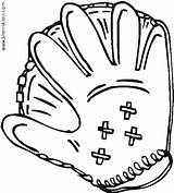 Coloring Baseball Mitt Pages Sports Sherriallen Getdrawings Drawing sketch template