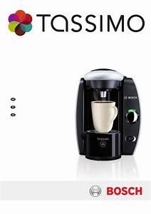 Bosch Tassimo Coffee Maker T45 User U0026 39 S Manual