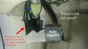 Where Is Left Kick Panel Fuse Box 2002 Es300