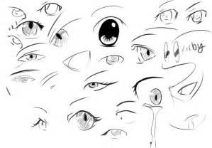 Scared Anime Eyes