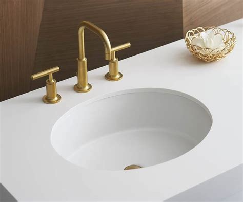 Kohler Verticyl Sink by Kohler Verticyl Oval Undermount Sink Bath