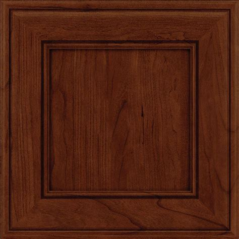 kraftmaid kitchen cabinet doors kraftmaid 15x15 in cabinet door sle in holace cherry 6713