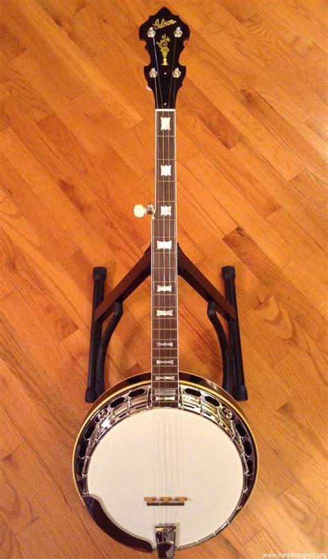 sold  gibson bowtie custom mahogany banjo banjo