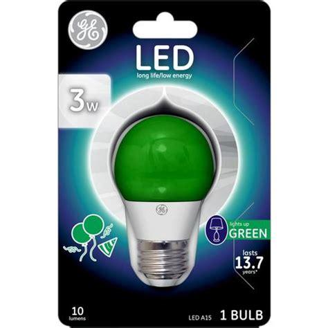 ge  watt eq  green dimmable led light bulb