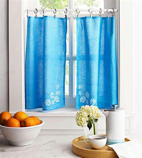 diy kitchen curtain ideas no sew diy curtains and shades