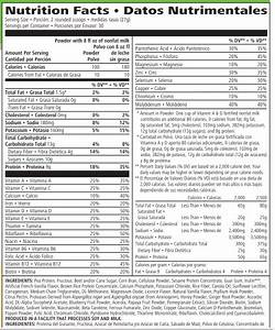 Herbalife Protein Powder Reviews  Ingredients  U0026 Nutrition Facts Analysis