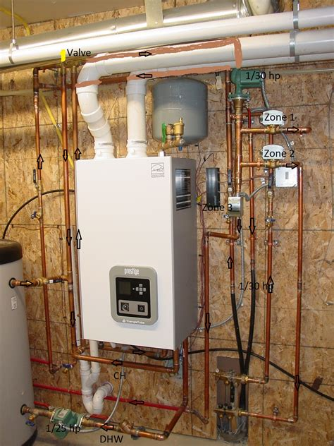 Hydronic Radiant Floor Heating Boilers by Navien Boiler Piping Diagrams Dunkirk Boiler Piping