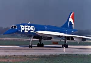 Air France Concorde Pepsi