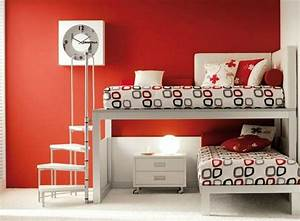 Betten Für Teenager : hochbett im teenager zimmer moderne einrichtungsideen ~ Pilothousefishingboats.com Haus und Dekorationen