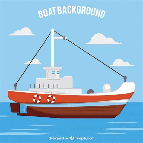 Imagenes De Barcos Vector by Fondo Con Barco Descargar Vectores Gratis