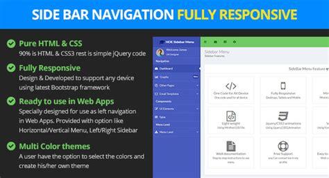 Responsive Bootstrap Sidebar Navigation By Logicalstack