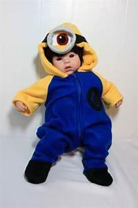 Minion Kostüm Baby : 11 best minion baby costume images on pinterest minion baby baby costumes and carnivals ~ Frokenaadalensverden.com Haus und Dekorationen