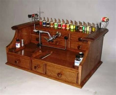 Fly Tying Table Woodworking Plans by Fly Tying Bench Fly Tying Furniture Rooms