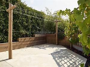 Etendoir A Linge Exterieur : charmant etendoir a linge exterieur en beton 1 poteau ~ Dailycaller-alerts.com Idées de Décoration