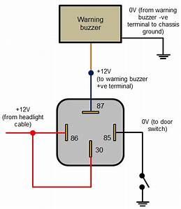 12 Volt Relay Wiring Code : relay 4 pin wiring diagram wiring diagram and schematic ~ A.2002-acura-tl-radio.info Haus und Dekorationen