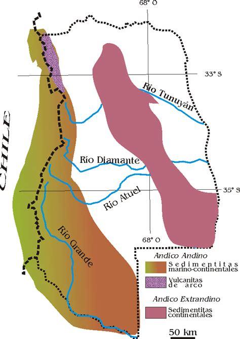 Cuencas de trasarco de la Región de Cuyo y del Chubut ...