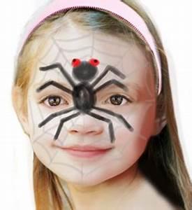 Maquillage Halloween Enfant Facile : maquillage halloween enfant maquillage halloween adulte ~ Nature-et-papiers.com Idées de Décoration