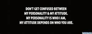 my personality and attitude Facebook Cover timeline photo ...