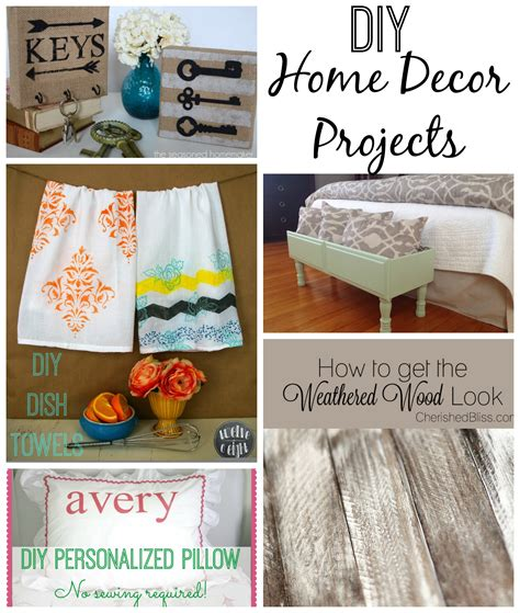 diy home decor projectsjpg