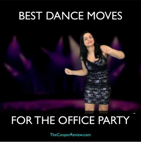 Dance Party Meme - best dance moves for the office party the cooper reviewcom dancing meme on sizzle