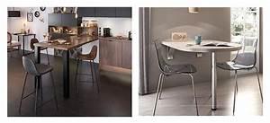 Table Cuisine Petit Espace : nos espaces repas pour votre cuisine quip e ~ Teatrodelosmanantiales.com Idées de Décoration