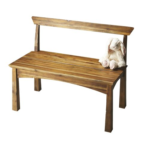 shop butler specialty butler loft natural wood indoor entryway bench  lowescom