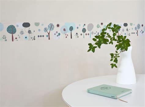 frise chambre fille frise adhésive terre décoration chambre enfant