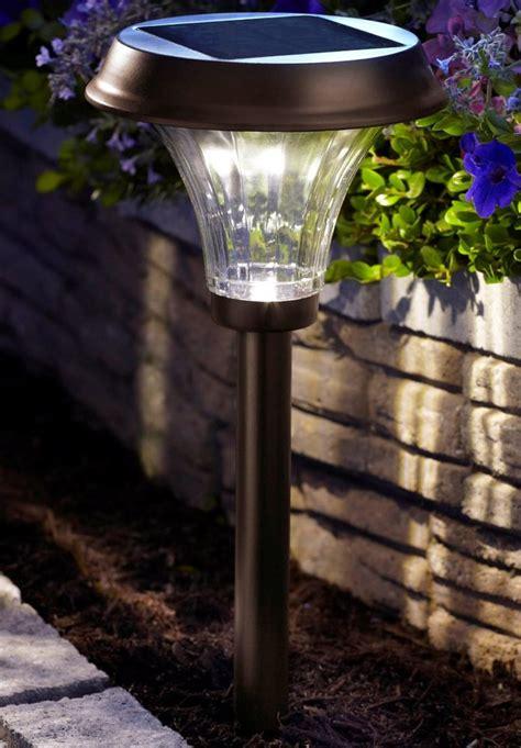 moonrays  richmond solar light metal path light
