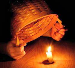 Shine matthew 514 16 part 4 clandestine christians for Light a lamp and put it under a basket
