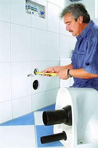 Abstand Wc Wand : montage wand wc k che bad sanit r ~ Lizthompson.info Haus und Dekorationen