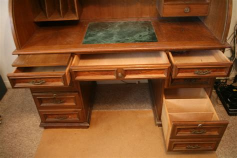 used roll top desk for sale solid wood roll top desk antique appraisal instappraisal