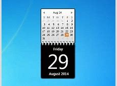 78 best images about Calendar Gadgets Win7 Gadgets on