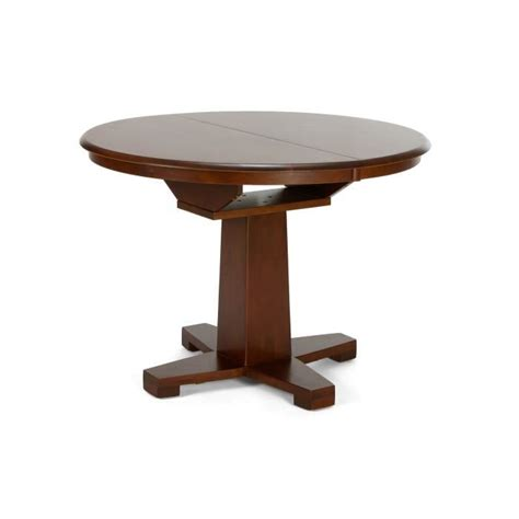 table de sejour ronde avec rallonge maison design homedian