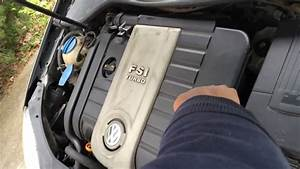 How To Remove Engine Cover On Vw Gti 2007- Como Quitar Tapa De Motor Vw Gti