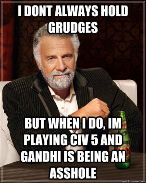 Asshole Memes - gandhi is an asshole nuclear gandhi know your meme