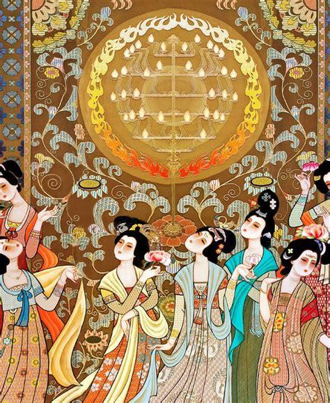 Tapisserie Sur Mesure by Tapisserie Num 233 Rque Sur Mesure Style Asiatique La Danse