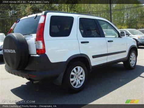2006 Honda CR-V EX in Taffeta White Photo No. 48137592 ...