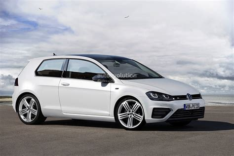 volkswagen golf vii r rendered autoevolution