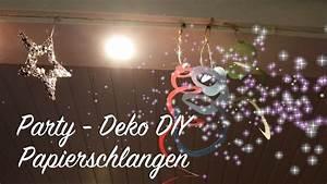 Silvester 2016 Last Minute : party diy h ngende papierschlangen basteln last minute idee dekoration silvester geburtstag ~ Frokenaadalensverden.com Haus und Dekorationen
