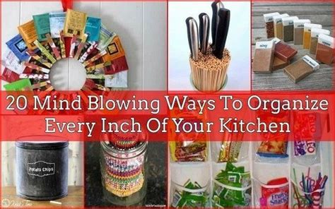 ways to organize kitchen awesome ways to organize your kitchen 7023