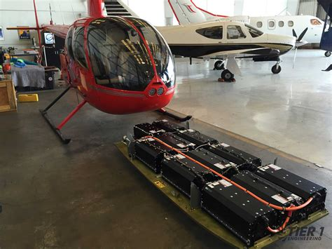electric r44 helicopter paves way for organ delivery flyer