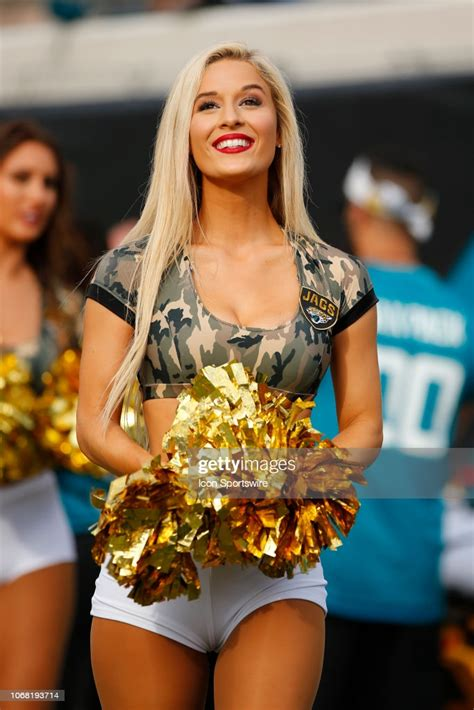 Kelli schaible of the jacksonville jaguars. A member of The Roar, the Jacksonville Jaguars cheerleading squad... News Photo - Getty Images