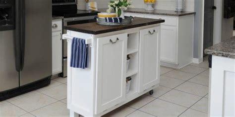 cabinet transformed   kitchen island sawdust  stitches