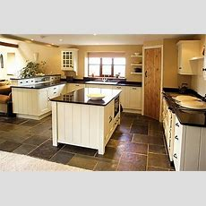Pin By Kni™ On Calonial Kitchens  Kitchen Flooring, Slate