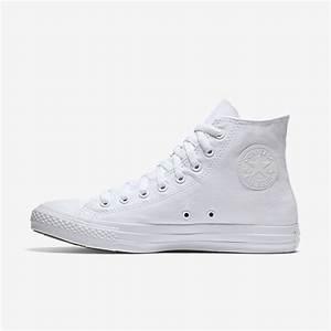 Converse Unisex Shoe Size Chart Converse Chuck Taylor Monochrome High Top Unisex Shoe