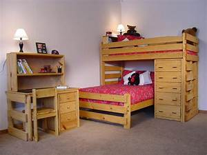 Amazing Bunk Beds with Storage — Optimizing Home Decor